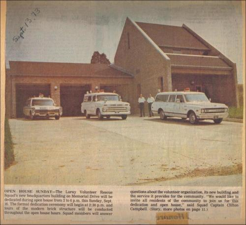 LVRS Building and Units in Newspaper - 1973-09-13